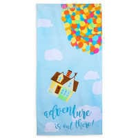 Image of Up Beach Towel - Personalizable # 1