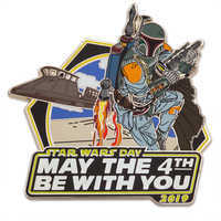 Image of Star Wars Day ''May The 4th Be With You'' Pin - 2019 - Limited Release # 1