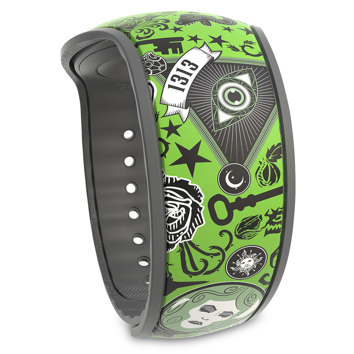 The Haunted Mansion Collage MagicBand 2 - Limited Release | shopDisney