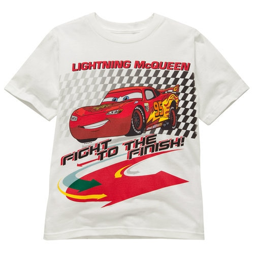 Lightning McQueen Cars 2 Tee for Kids -- Made With Organic Cotton