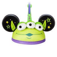 Image of Toy Story Alien Ear Hat Ornament # 1