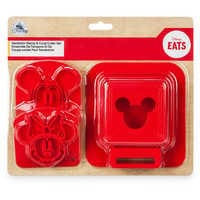 Image of Mickey and Minnie Mouse Sandwich Stamp and Crust Cutter Set - Disney Eats # 4
