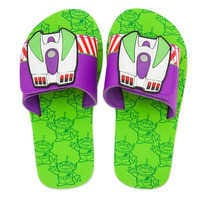 Image of Buzz Lightyear and Toy Story Alien Sandals for Kids # 2