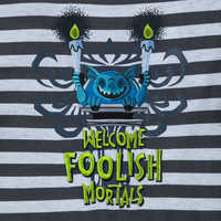 Image of The Haunted Mansion Striped T-Shirt for Boys # 2