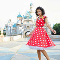Image of Minnie Mouse Sweetheart Dress for Women # 4