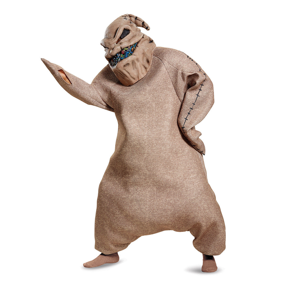 product image of oogie boogie prestige costume for adults by disguise the nightmare before christmas - The Nightmare Before Christmas Oogie Boogie