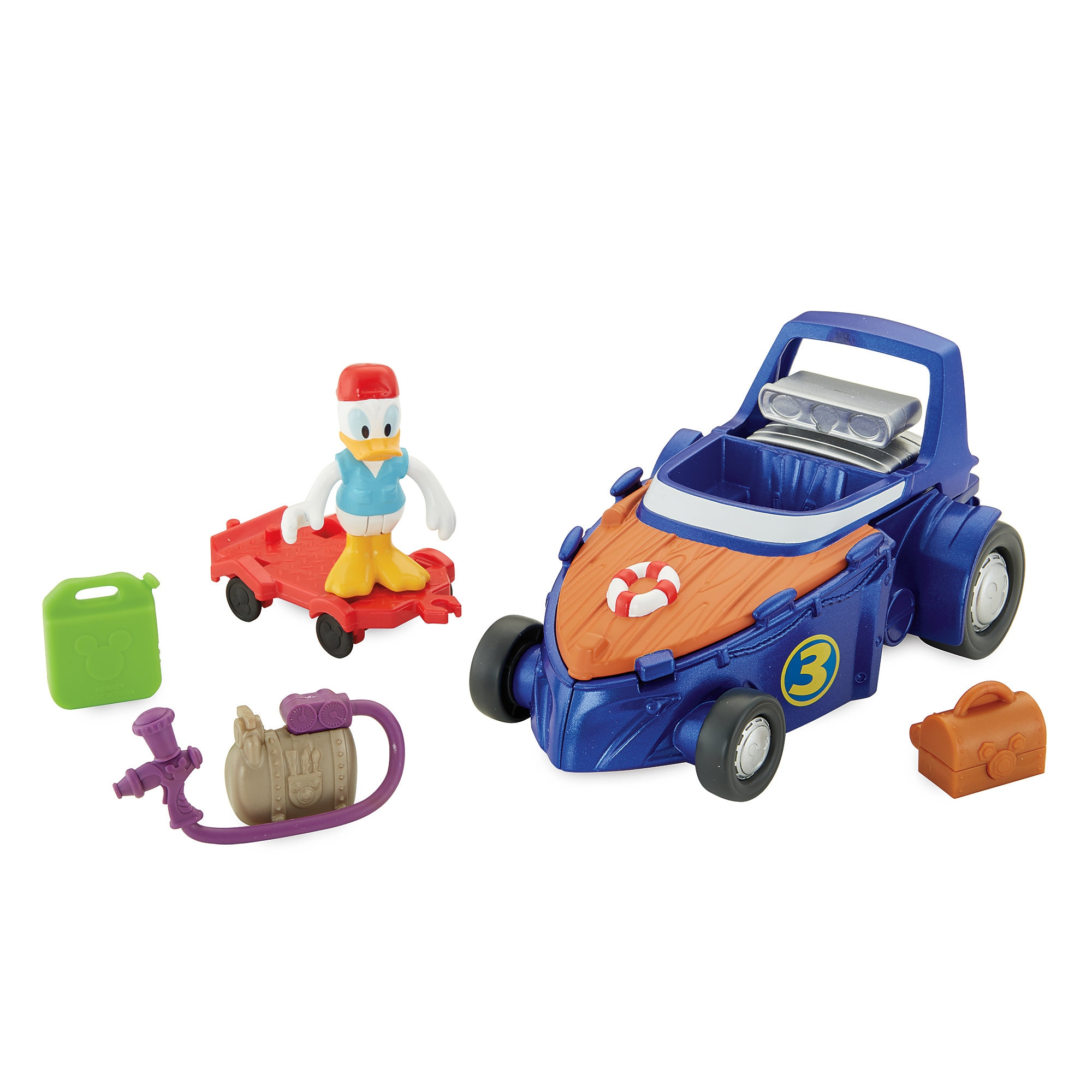 Donald Duck Fix It Station - Mickey and the Roadster Racers