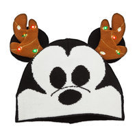 Mickey Mouse Holiday Light-Up Beanie - Kids