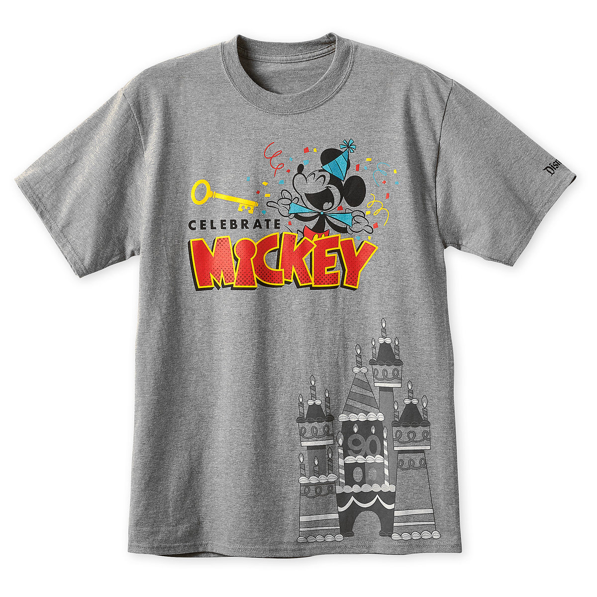 a37b03ae9 Product Image of Mickey Mouse ''Celebrate Mickey'' T-Shirt for Men