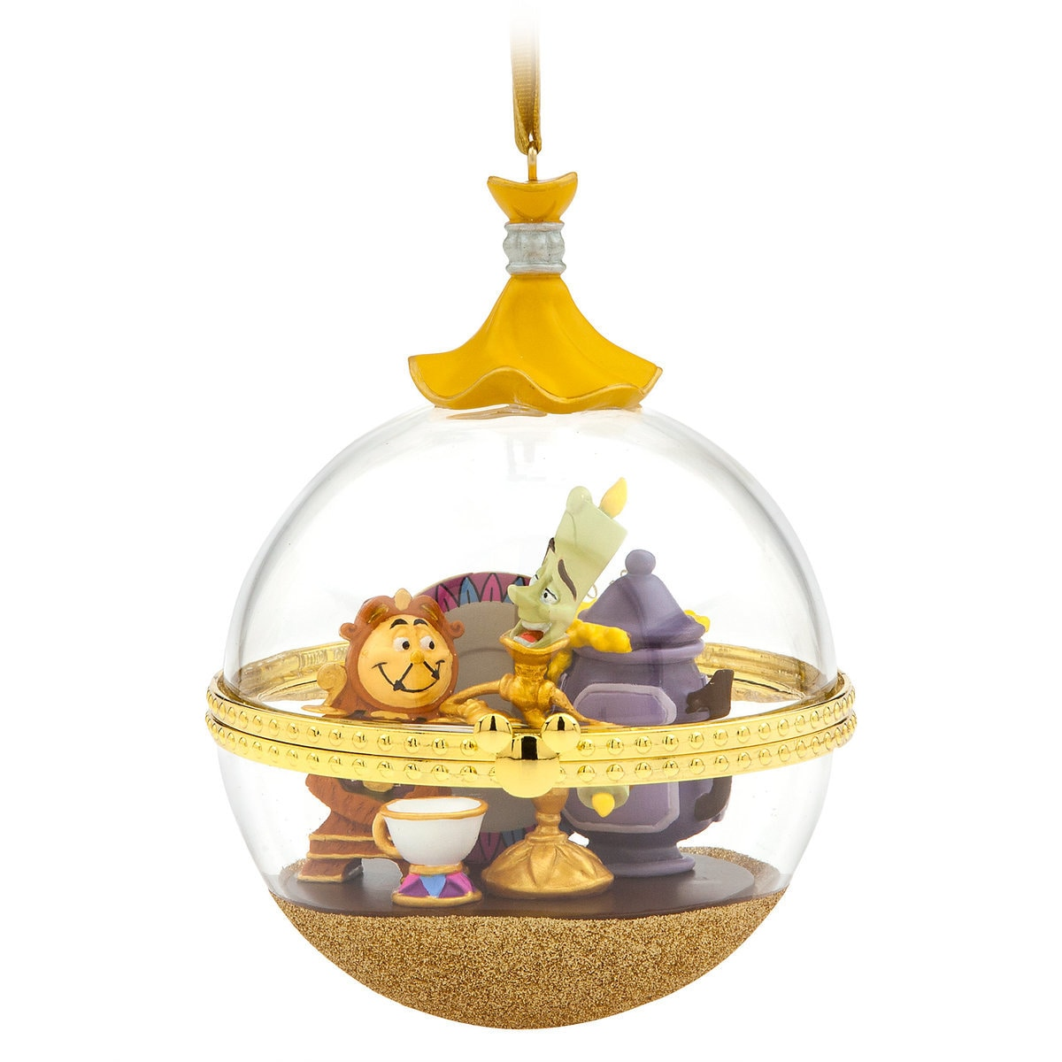 Lumiere And Cogsworth Disney Duos Sketchbook Ornament Beauty And