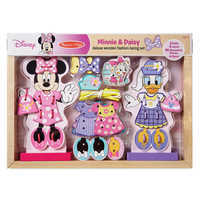 Image of Minnie & Daisy Fashion Lacing Set by Melissa & Doug # 2
