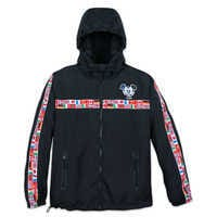 Image of Mickey Mouse Epcot Windbreaker Jacket for Men # 1