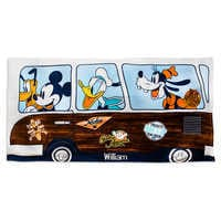 Image of Mickey Mouse and Friends Beach Towel for Kids - Personalizable # 1