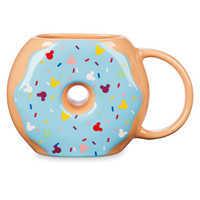 Image of Mickey Mouse Donut Figural Mug # 1