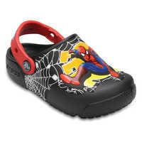 Image of Spider-Man Crocs™ Light-Up Clogs for Boys # 1