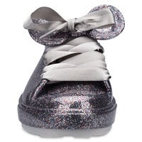 Mickey Mouse Sneakers for Women by Melissa - Silver