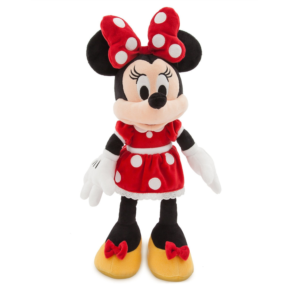 650308f13 Product Image of Minnie Mouse Plush - Red - Medium - 18'' - Personalizable