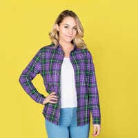 Image of Evil Queen Flannel Shirt for Adults by Cakeworthy # 7