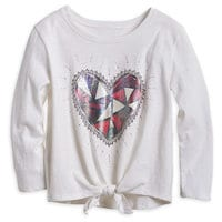 Snow White Heart Top for Tweens