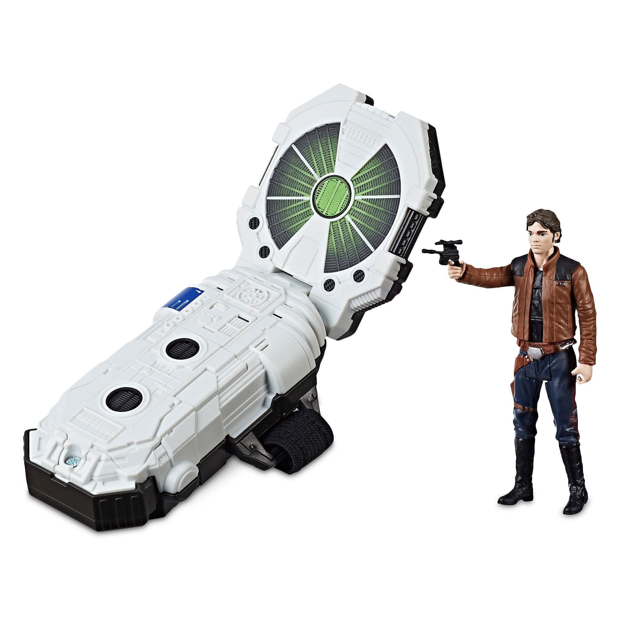 Han Solo Action Figure Force Link 2.0 Starter Kit - Solo: A Star Wars Story