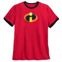 Image of Incredibles Logo Ringer T-Shirt for Men # 1