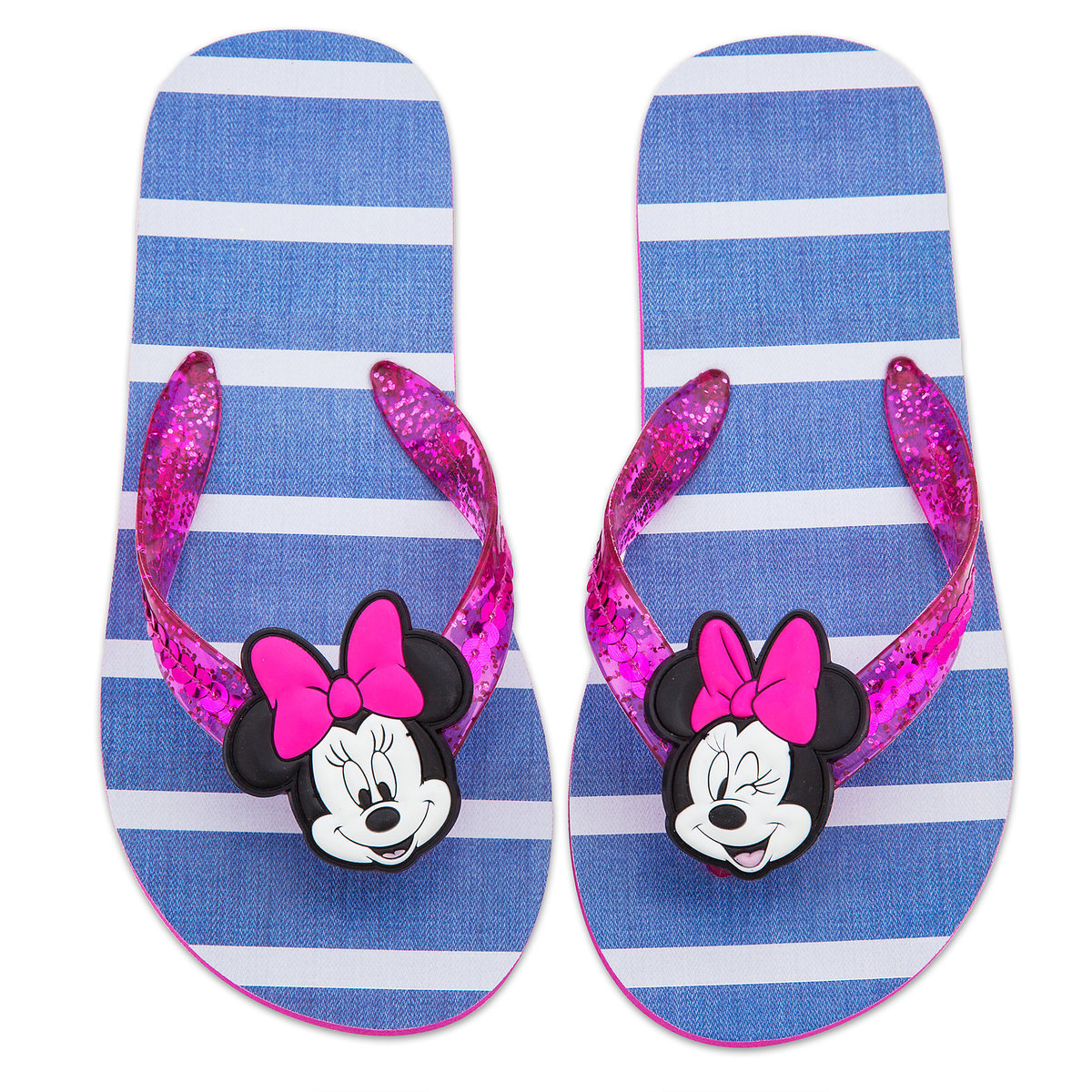 Product Image of Minnie Mouse Flip Flops for Kids # 2