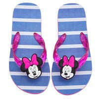 Image of Minnie Mouse Flip Flops for Kids # 2