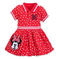 Image of Minnie Mouse Red Polka Dot Dress for Baby # 1