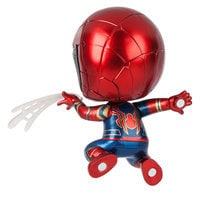 Image of Iron Spider Cosbaby Bobble-Head Figure by Hot Toys - Marvel's Avengers: Infinity War # 2