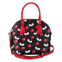 Image of Mickey Mouse Ear Hat Satchel by kate spade new york - Black # 2