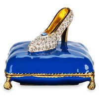 Image of Cinderella Slipper Trinket Box by Arribas Brothers # 1