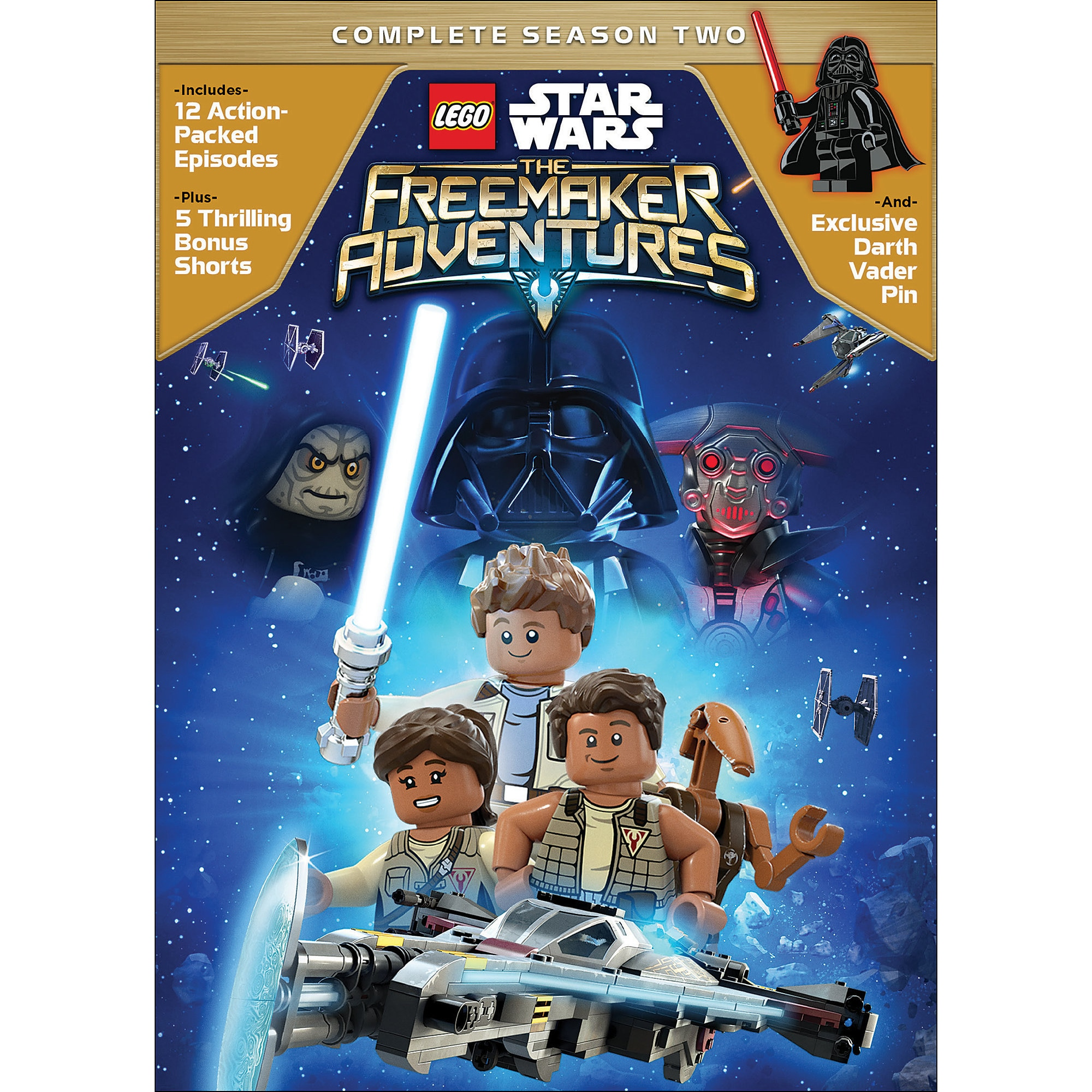 LEGO Star Wars: The Freemaker Adventures Season Two DVD