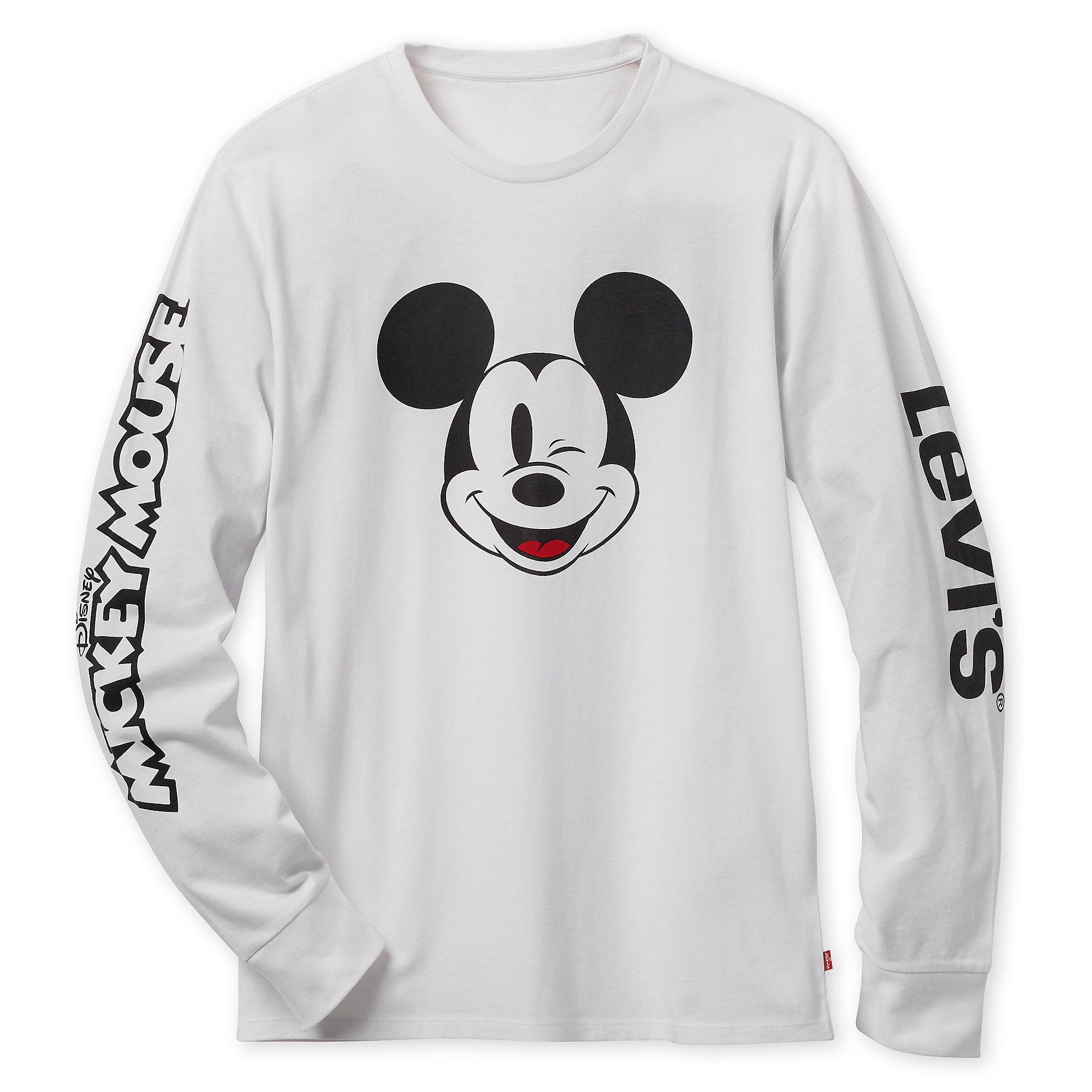 11c0455fb15e Mickey Mouse Long Sleeve T-Shirt for Men by Levi s