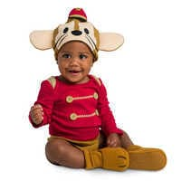 Image of Timothy Mouse Costume Bodysuit Set for Baby - Dumbo # 2