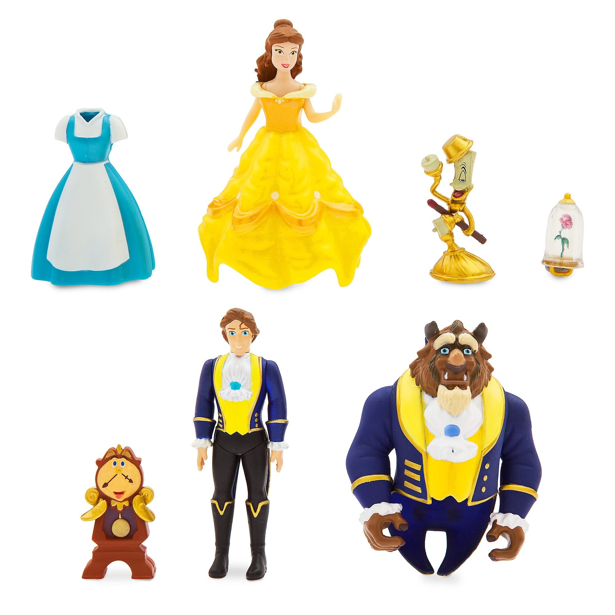 Belle Dress Up Figure Set