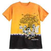 Image of Mickey Mouse and Friends Tie-Dye T-Shirt for Kids - Disney's Animal Kingdom # 1