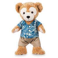 Image of Duffy the Disney Bear Plush - Aulani, A Disney Resort & Spa - Small # 1