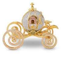 Image of Cinderella Coach Miniature by Arribas # 1