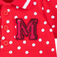 Image of Minnie Mouse Red Polka Dot Dress for Baby # 5