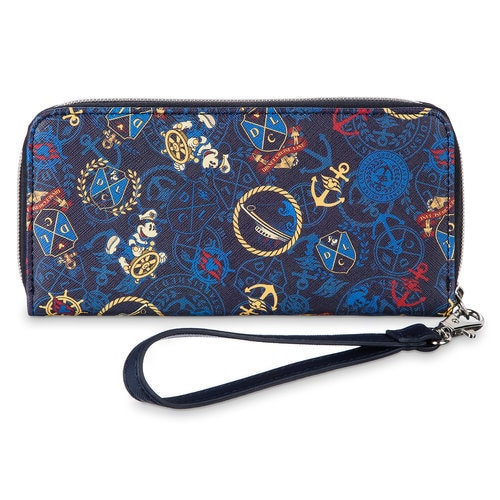 Captain Mickey Mouse Wristlet Wallet Disney Cruise Line