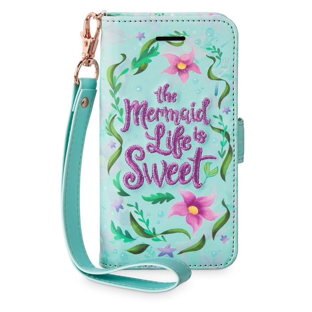 quality design c43b6 259d3 Ariel Wristlet iPhone 6s/7/8 Case - The Little Mermaid
