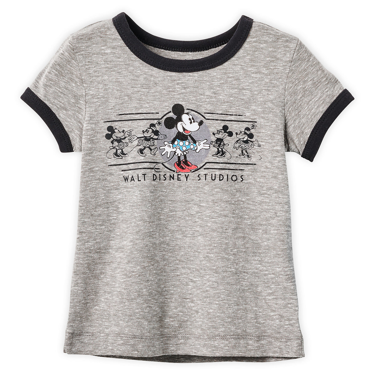 42fff9a0d617 Product Image of Minnie Mouse Ringer T-Shirt for Girls - Walt Disney  Studios #