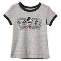 Image of Minnie Mouse Ringer T-Shirt for Girls - Walt Disney Studios # 1