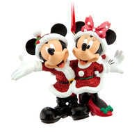 Image of Mickey and Minnie Ornament # 1