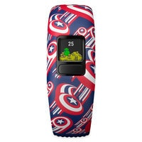Image of Captain America Garmin vivofit jr. 2 Activity Tracker for Kids with Adjustable Band # 7