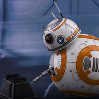 Image of BB-8 and BB-9E Sixth Scale Figure Set by Hot Toys - Star Wars # 2