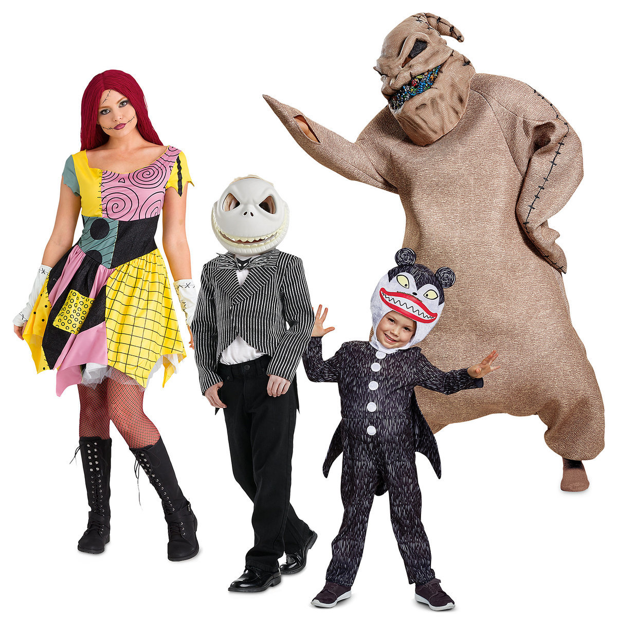 The Nightmare Before Christmas Costume Collection for Family ...