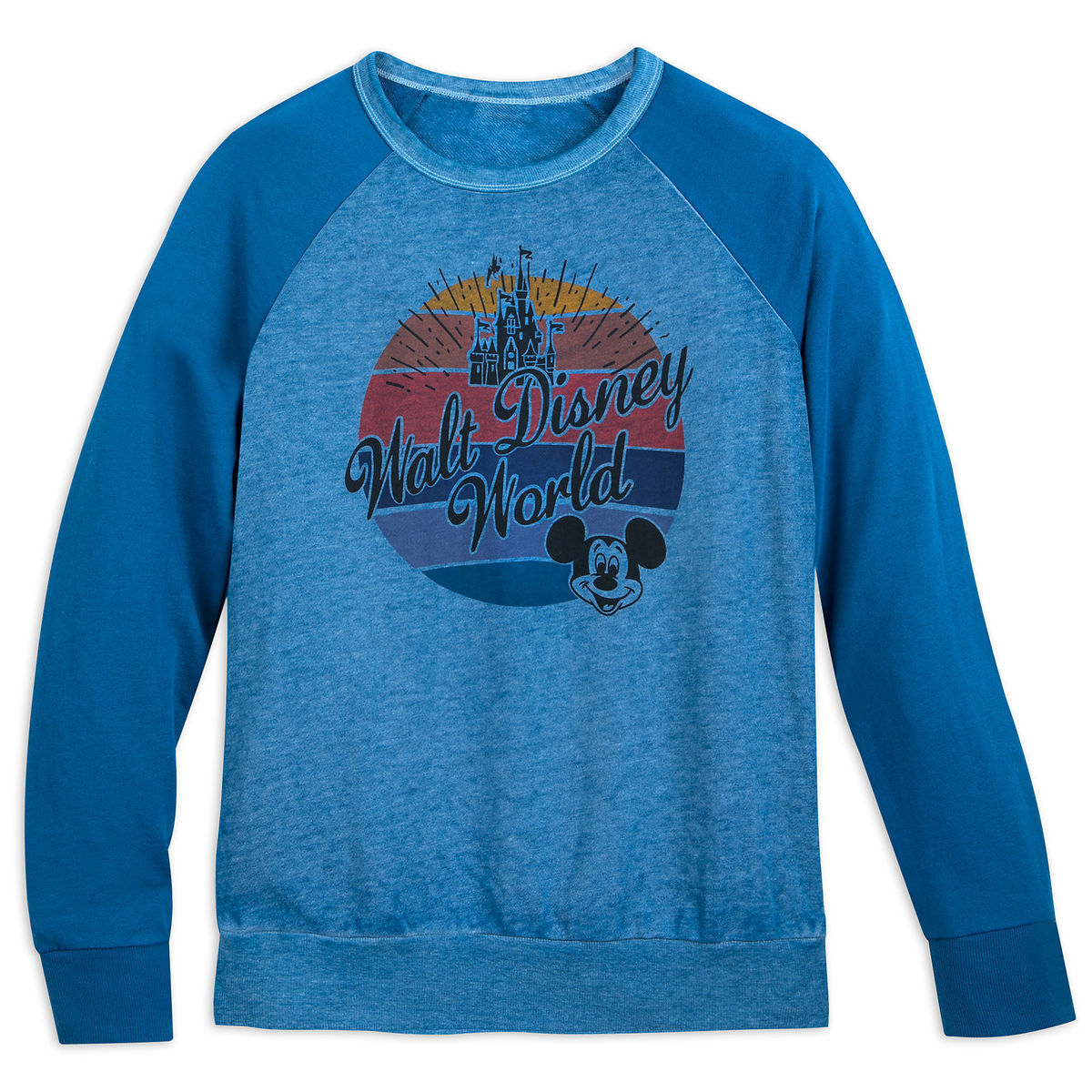 Product Image of Mickey Mouse and Cinderella Castle Raglan T-Shirt for Women  - Walt 5eb06ede5
