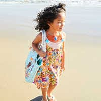 Image of Moana Swim Cover-Up for Girls # 2