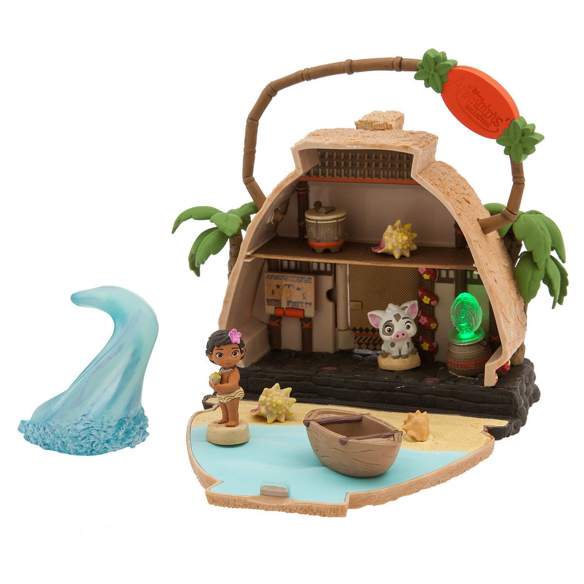 Disney Animators\' Littles Motunui Island Surprise Feature Playset ...